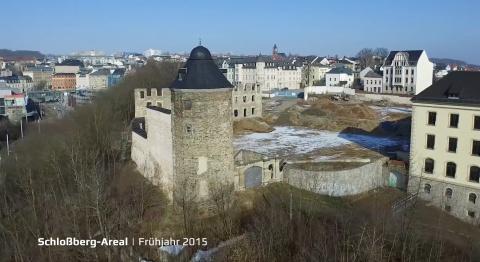 Umbau der Plauener Schlossterrassen - Doku