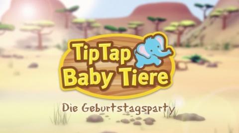V-Tech - Tip Tap Babytiere - Geburtstag