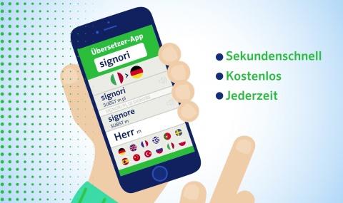 Online-Übersetzer App von PONS - VIRAL-Spot